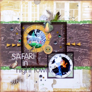 Safari_in_night_town